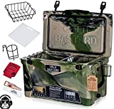45QT Cold Bastard Rugged+ CAMO Army Premium Ice Chest Cooler Accessories Free S&H