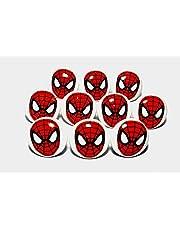 Set van 10 keramische deur/ladeknop met Spiderman Spider Comic Superhero Hero knop handgrepen knoppen kast lades keuken
