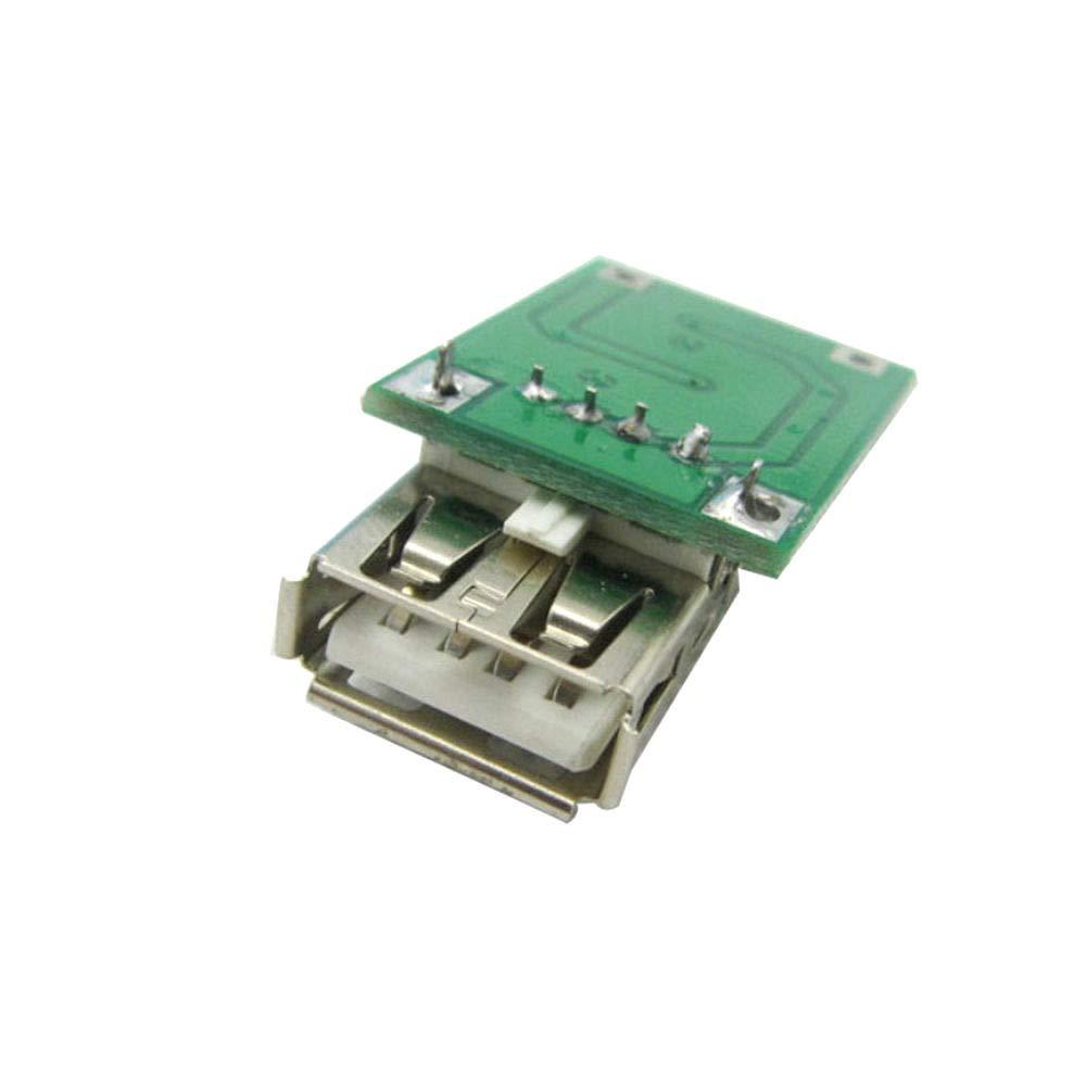 DIYElectronic 5 pcs 0.9V ~ 5V to 5V 600MA USB Output Charger Step up Power Module Mini DC-DC Boost Converter