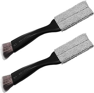 2 peças de escovas de interior para automóveis, lacunas de carro, escovas de limpeza de saída de ar condicionado Adereços ...