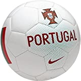 Nike Portugal Supporters Ballon de Football Mixte Adulte, White/Kinetic Green/(Gym Red), 5