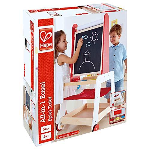 Hape- Set Creativo con Pizarra Infantil (Barrutoys E1055)