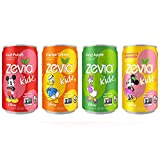 Zevia Kidz Sparkling Drink, Variety Pack, 7.5 Ounce Cans (Pack of 24)