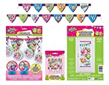 Shopkins Deluxe Birthday Party Decorating Bundle ~ Banners, Candles, Door Poster and More!