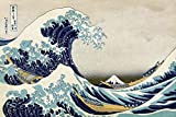 Great Wave of Kanagawa Poster Katsushika Hokusai - Die
