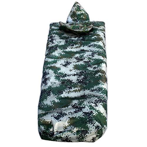 Bolsillo resistente al agua todo en un pequeño compresor llevar bolsa de dormir 4 temporada almohada