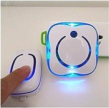 Draadloze deurbel, deurbelset, elektronische deur, Ling intelligente deurbel, draadloze afstandsbediening thuis blauw