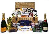 Champagne and Gourmet Food Hamper - Includes Veuve Clicquot