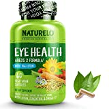 Best Eye Supplements - NATURELO Eye Vitamins - AREDS 2 Formula Review