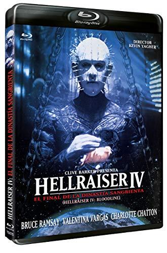 Hellraiser IV: El Final de la Dinastía Sangrienta BLU RAY 1996 Hellraiser IV: Bloodline