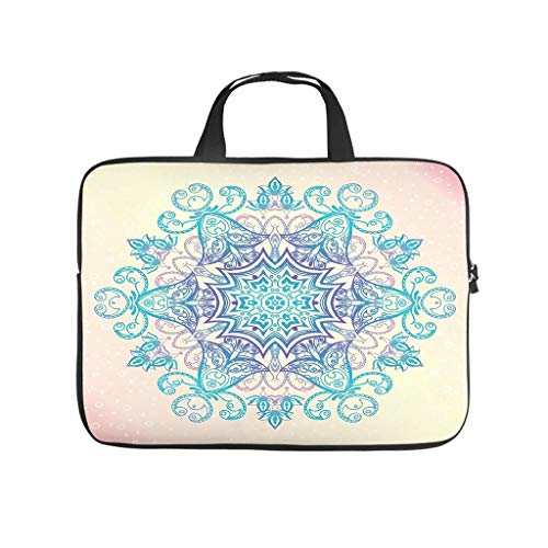 Laptop bag colourful wear-resistant fashionable - computer bag compatible with 13 - 15.6 inch laptop.