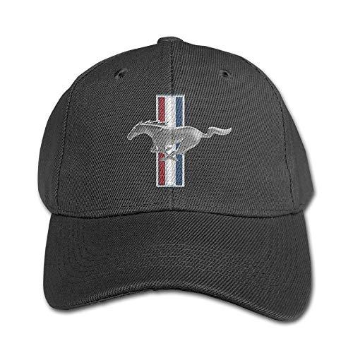 Youaini Senben Ford Mustang Kids Boys Girls Adjustable Snapback Hip-hop Baseball Cap Black