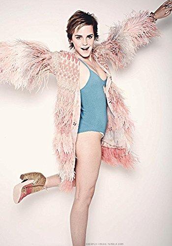 Das Museum Outlet–Emma Watson Sexy mm von Elle–Poster (mittel)