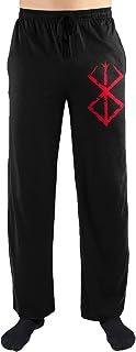 Bioworld Crunchyroll Berserk Anime Logo Print Men's Loungewear Lounge Pants
