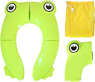 Foldable Potty Training Seat Cover Liner Toilet for Toddler Kid Girl Boy Non Slip Silicone Pads Portable Reusable for Home...