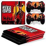 PS4 Pro Console di gioco Tutti gli host Carta adesiva Set intero Adesivo per la pelle Red Dead Redemption 2