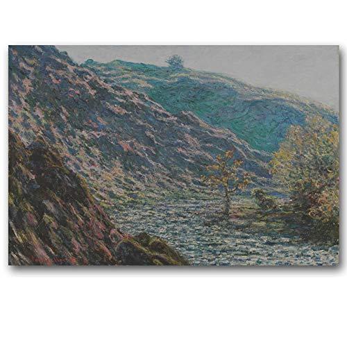 yiyiyaya Hitler Malerei Original Landschaft Ölgemälde rahmenlose Leinwand Malerei Meisterwerk ReproduktionLeinwanddrucke Wandkunst poster-28X42inch_177