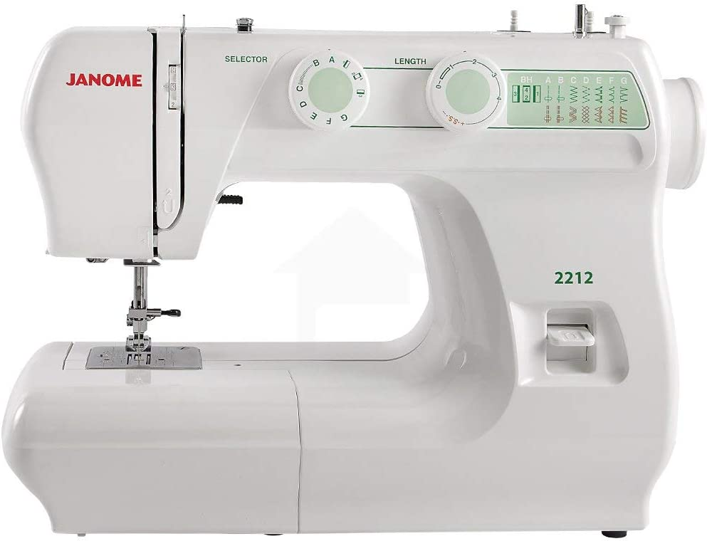 Janome 2212 Sewing Machine OFFicial Renewed Limited Special Price