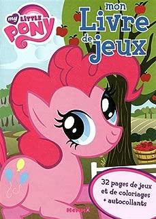 mon livre de jeux my little pony