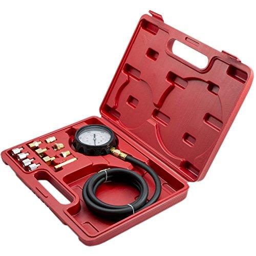 Öldruckmesser Öldrucktester Öl Messgerät Öldruckprüfer Prüfgerät 12-TLG NEU