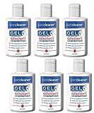Ipercleaner Gel igienizzante mani antibatterico con alcool etilico denaturato 70% in formato tascabile da 80 ml (6 pezzi)