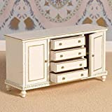 Dolls House 4264 Cream Buffet Sideboard 1:12 für Puppenhaus