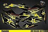 Kit Déco Quad pour/ATV Decal Kit for Yamaha Raptor - Rockstar (Raptor 350)
