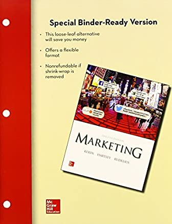 Loose Leaf of Marketing with Connect Access Card by Roger Kerin (2013-10-11)