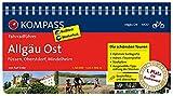 KOMPASS Fahrradführer Allgäu Ost - Füssen, Oberstdorf, Mindelheim: Fahrradführer mit Routenkarten im optimalen Maßstab.