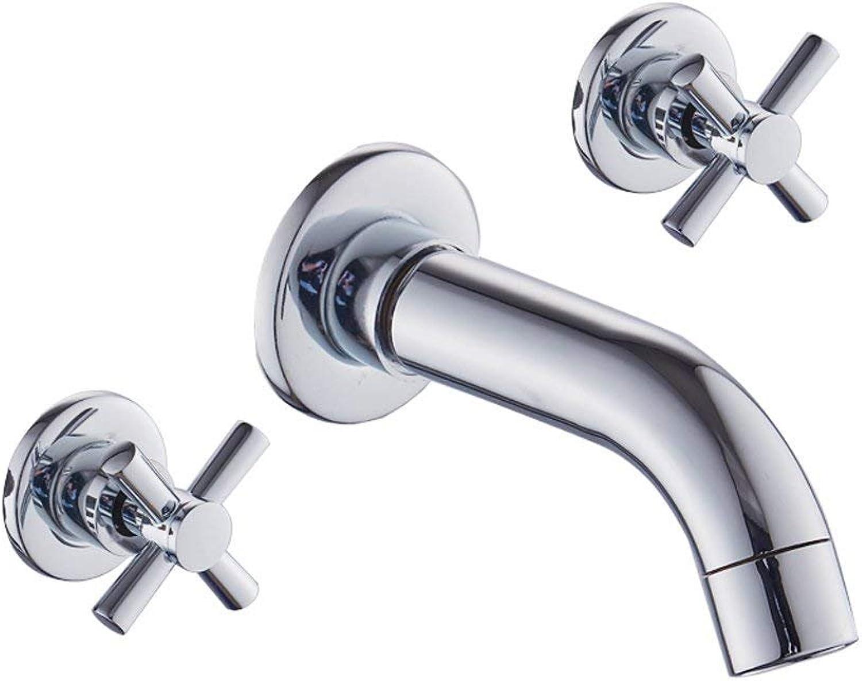 JU Badezimmer Schrank Grünckt Split Becken Wasserhahn in in in die Wand Wasserhahn Badezimmer Zubehör B07GF5WG6P   Der neueste Stil  44741f