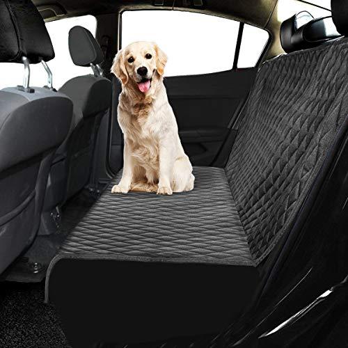 Ferocity Auto Hundedecke Gepolstert für den Rücksitz & Kofferraum, Autoschondecke für Hunde, Hunde Autodecke Simple Klein [115]