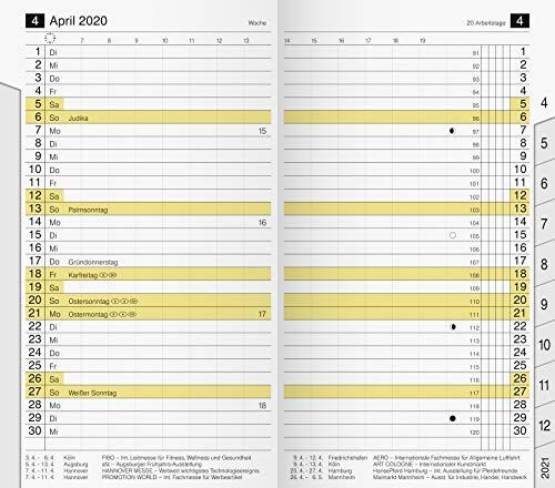 7046820 Ersatzkalendarium · Modell M-Planer · Blattgröße 8,7 x 15,3 cm · 32 Seiten