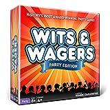 North Star Games Wits & Wagers ボードゲーム パーティーエディション 子供に優しいパーティーゲーム トリビア
