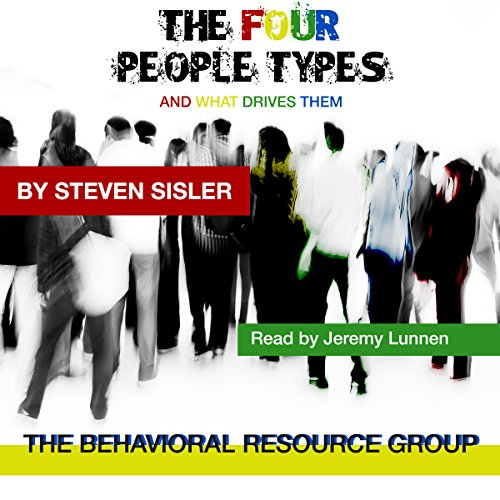 The Four People Types: And What Drives Them audiobook cover art