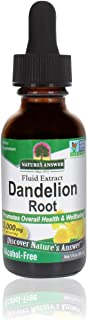 Nature's Answer Alcohol-Free Herbal Supplement, Dandelion Root, 1-Fluid Ounce - 1 count