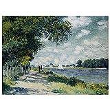 JUNIWORDS Poster, Claude Monet, Die Seine bei Argenteuil,