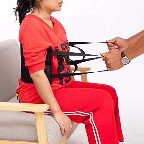 Almohadilla de posicionamiento de paciente, cinturón de transferencia elevador Sling transporte ayuda a la movilidad Posicionamiento Pad con asas, para hospital y cuidado del hogar CYZYD04