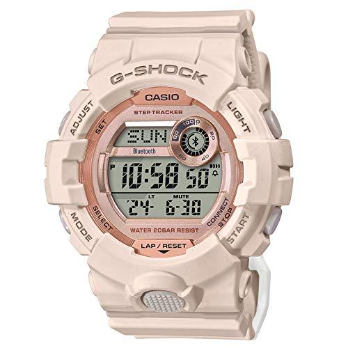Casio GMDB800-4 G-Shock - Reloj para mujer (resina, 50,7 mm), color rosa
