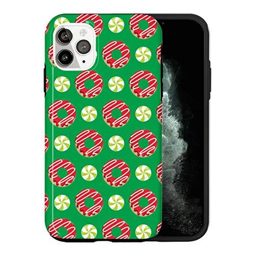 iPhone 12 Funda, Donuts Pattern LS013_5 Caso per iPhone 12 Protector, Gorgeous Phone Cover, Luxury Design [Caso Anti-Rasguño Protección de Esquina Protector Completo]