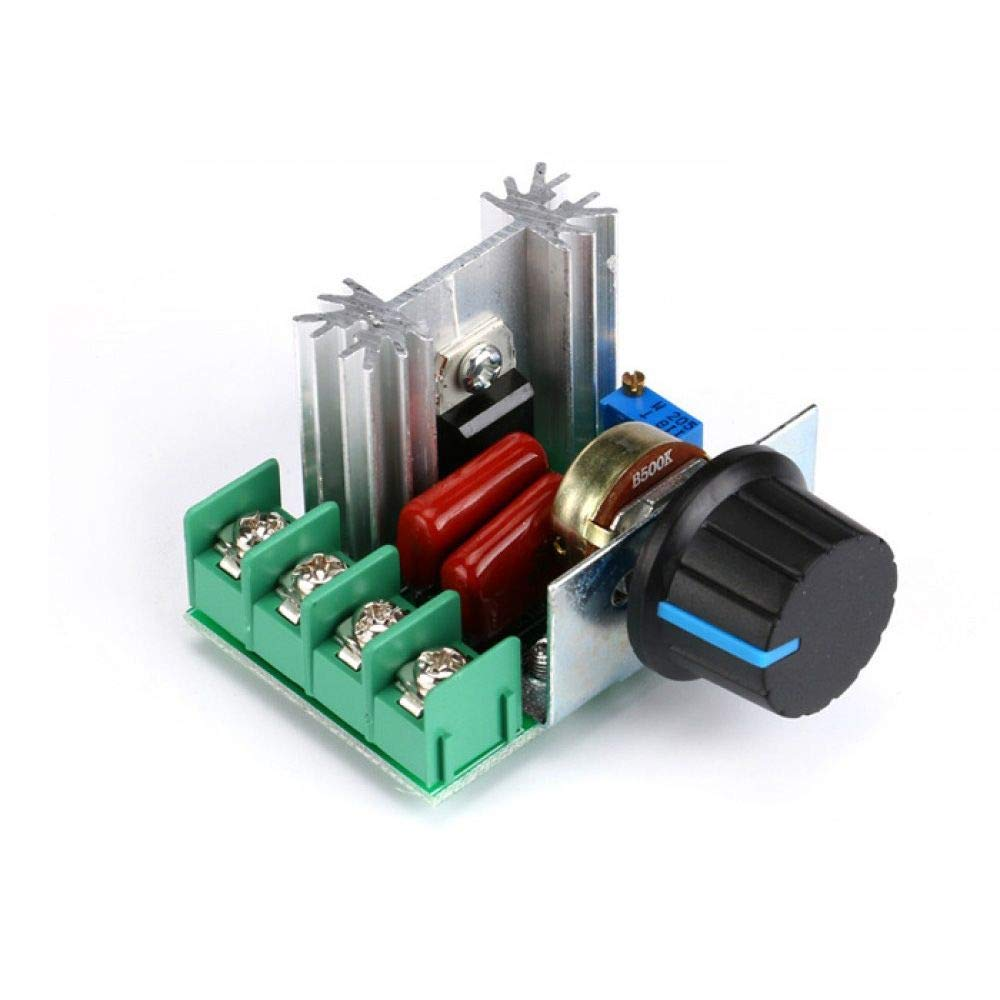 1Pc x Electronic Voltage Regulator 220V Dimmer Controller 2000W Power Board ^P
