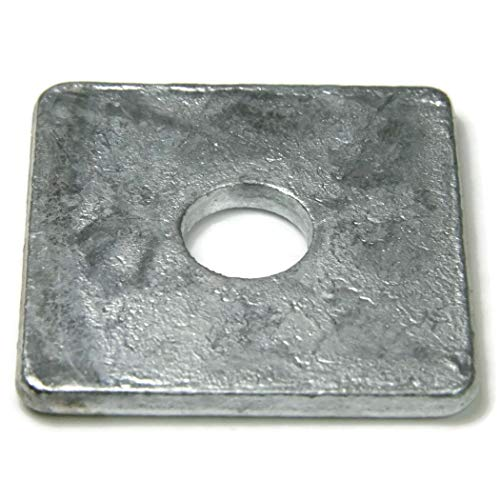 Square Washers Hot Dipped Galvanized - 5/8