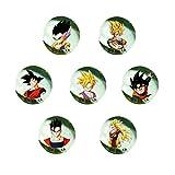 Canicas Dragonball Z, 7 bolas de cristal...