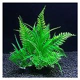 siqiwl Acuario Decoracion Plantas de decoración Artificial Agua Weeds Ornament Fish Tank Accesorios de Hierba (Color : 11, Size : 8x14cm)