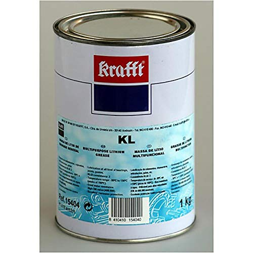 krafft 15402 Grasa de Litio KL, marrón