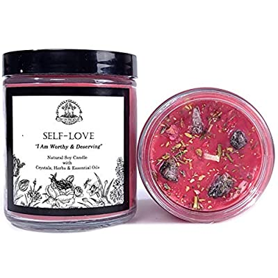 Self Love Affirmation Candle