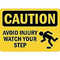 注意けがをしない 金属板ブリキ看板警告サイン注意サイン表示パネル情報サイン金属安全サイン
