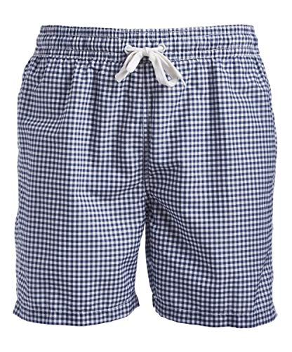Kanu Surf Men's Swim Trunks (Regular & Extended Sizes), Monaco Navy, Small