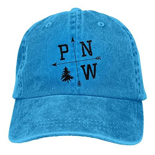Preisvergleich Produktbild Voxpkrs Trucker Cap Pacific North West Durable Baseball Cap, Adjustable Dad Hat Black Comfortable17629