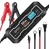 Best Battery Maintainers - BYGD 5-Amp Fully Automatic Smart Battery Charger, 6V Review