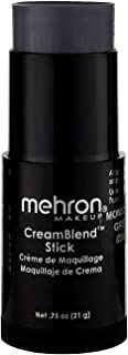 Mehron Makeup CreamBlend Stick (0.75 Ounce) (MONSTER GREY)